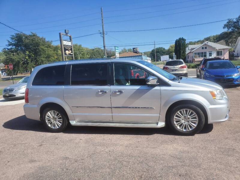 2012 Chrysler Town and Country for sale at RIVERSIDE AUTO SALES in Sioux City IA