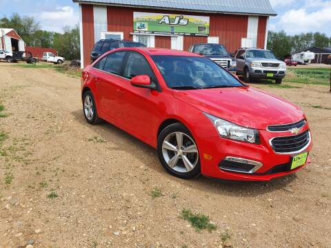 2015 Chevrolet Cruze for sale at AJ's Autos in Parker SD