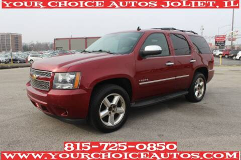 2010 Chevrolet Tahoe for sale at Your Choice Autos - Joliet in Joliet IL