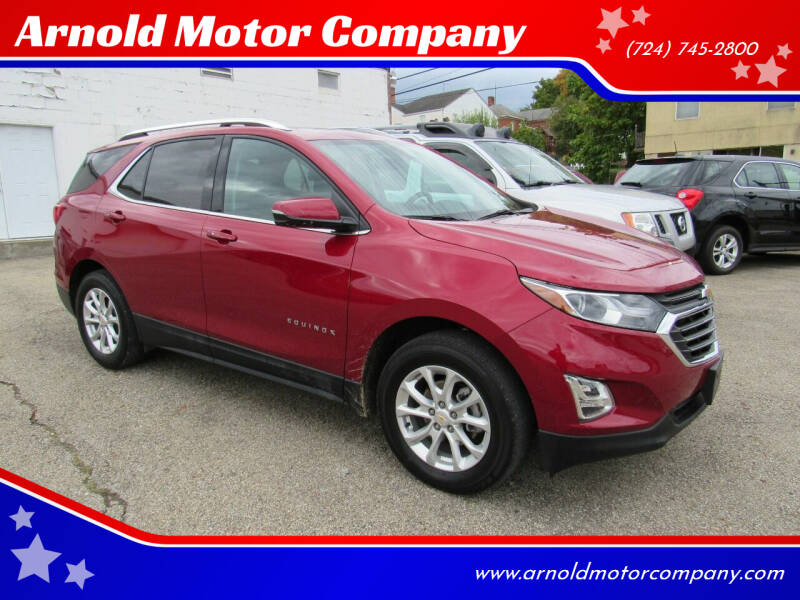 2018 Chevrolet Equinox for sale at Arnold Motor Company in Houston PA