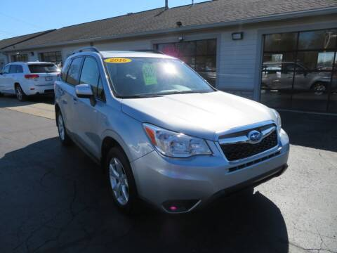 2016 Subaru Forester for sale at Tri-County Pre-Owned Superstore in Reynoldsburg OH