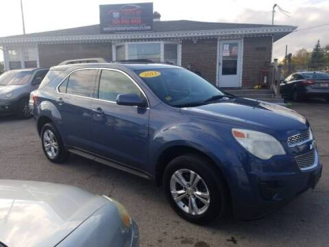 2011 Chevrolet Equinox for sale at I57 Group Auto Sales in Country Club Hills IL