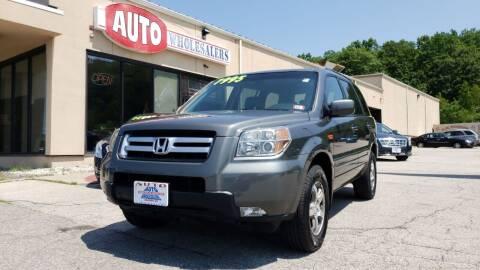2008 Honda Pilot for sale at Auto Wholesalers Of Hooksett in Hooksett NH