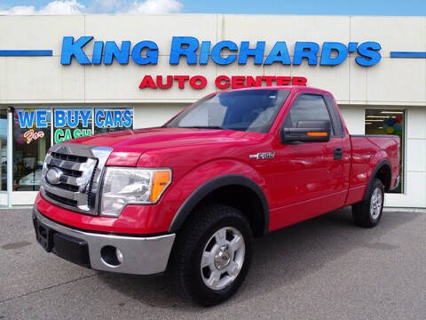 2009 Ford F-150 for sale at KING RICHARDS AUTO CENTER in East Providence RI