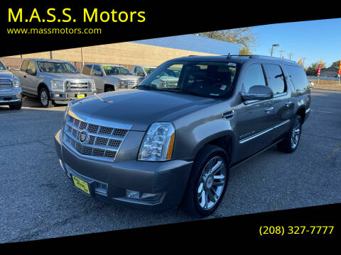 2012 Cadillac Escalade ESV for sale at M.A.S.S. Motors - MASS MOTORS in Boise ID