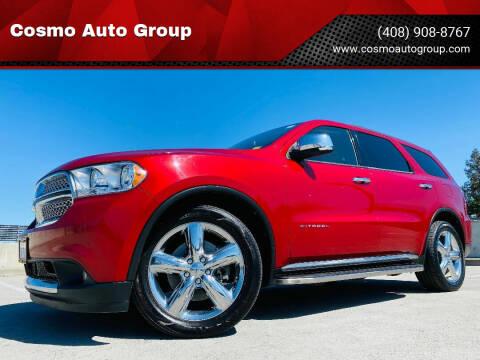 2011 Dodge Durango for sale at Cosmo Auto Group in San Jose CA