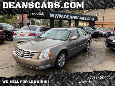 2006 Cadillac DTS for sale at DEANSCARS.COM in Bridgeview IL