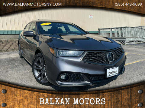 2019 Acura TLX for sale at BALKAN MOTORS in East Rochester NY