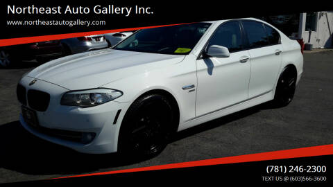 2011 BMW 5 Series for sale at Northeast Auto Gallery Inc. in Wakefield MA