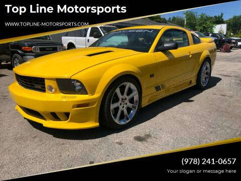 2005 Ford Mustang for sale at Top Line Motorsports in Derry NH