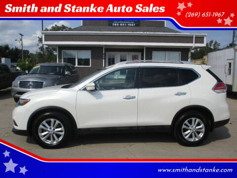 2015 Nissan Rogue for sale at Smith and Stanke Auto Sales in Sturgis MI