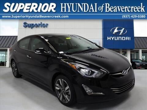 2016 Hyundai Elantra for sale at Superior Hyundai of Beaver Creek in Beavercreek OH