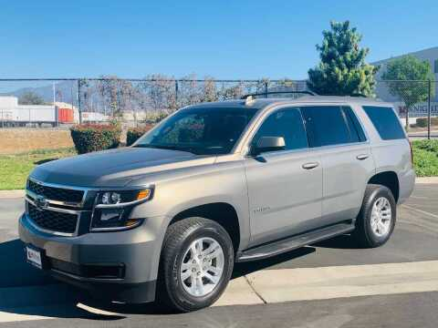 2018 Chevrolet Tahoe for sale at CARLIFORNIA AUTO WHOLESALE in San Bernardino CA