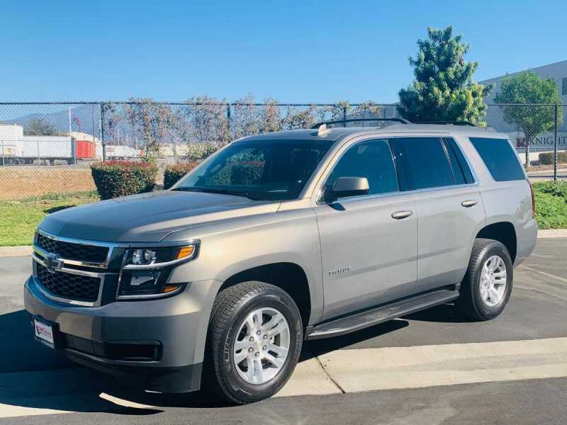 2018 Chevrolet Tahoe for sale at CARLIFORNIA AUTO WHOLESALE in San Bernardino CA