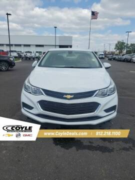 2017 Chevrolet Cruze for sale at COYLE GM - COYLE NISSAN - New Inventory in Clarksville IN