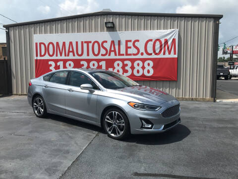2020 Ford Fusion for sale at Auto Group South - Idom Auto Sales in Monroe LA