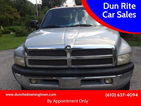 2001 Dodge Ram Pickup 2500 for sale at Dun Rite Car Sales in Downingtown PA