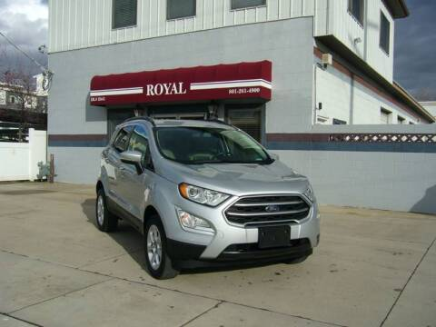 2018 Ford EcoSport for sale at Royal Auto Inc in Murray UT