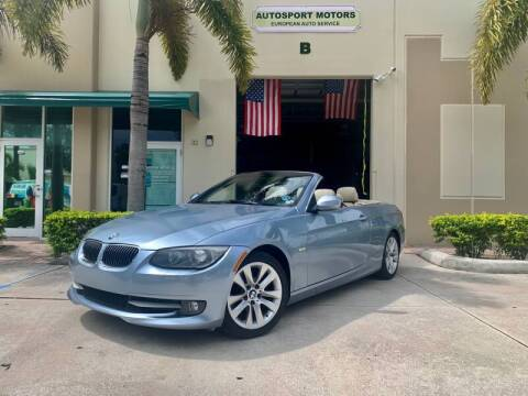 2011 BMW 3 Series for sale at AUTOSPORT MOTORS in Lake Park FL