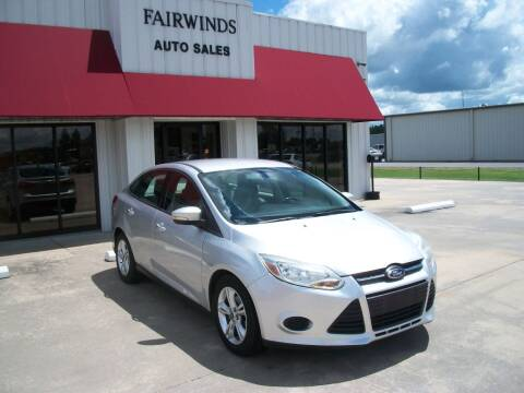 2013 Ford Focus for sale at Fairwinds Auto Sales in Dewitt AR