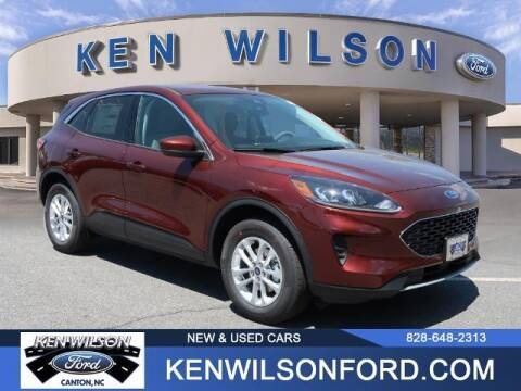 2021 Ford Escape for sale at Ken Wilson Ford in Canton NC