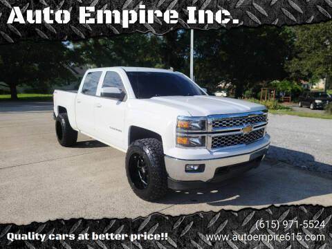 2015 Chevrolet Silverado 1500 for sale at Auto Empire Inc. in Murfreesboro TN