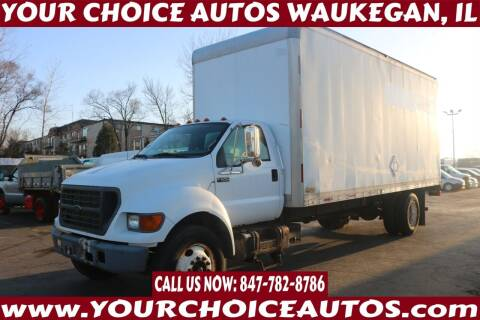 2001 Ford F-650 Super Duty for sale at Your Choice Autos - Waukegan in Waukegan IL