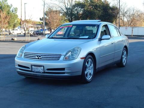 2003 Infiniti G35 for sale at Gilroy Motorsports in Gilroy CA