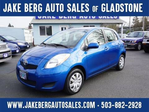 2011 Toyota Yaris for sale at Jake Berg Auto Sales in Gladstone OR
