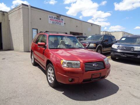 2008 Subaru Forester for sale at ACH AutoHaus in Dallas TX