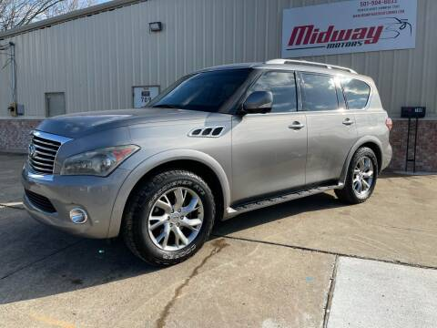 2011 Infiniti QX56 for sale at Midway Motors in Conway AR