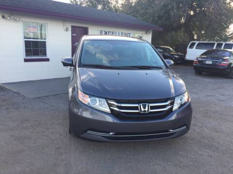 2015 Honda Odyssey for sale at Excellent Autos of Orlando in Orlando FL