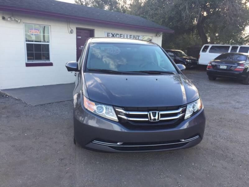 2015 Honda Odyssey for sale at Excellent Autos of Orlando in Orlando FL
