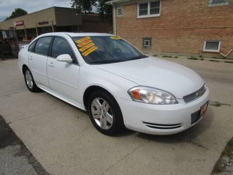2012 Chevrolet Impala for sale at RON'S AUTO SALES INC in Cicero IL