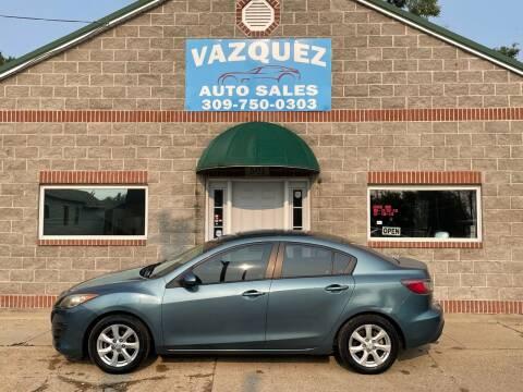 2010 Mazda MAZDA3 for sale at VAZQUEZ AUTO SALES in Bloomington IL