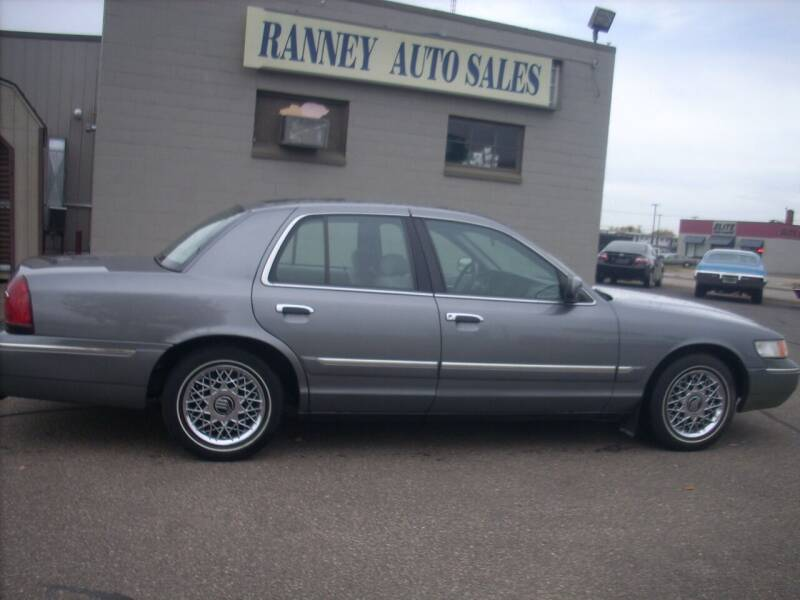 2000 Mercury Grand Marquis for sale at Ranney's Auto Sales in Eau Claire WI