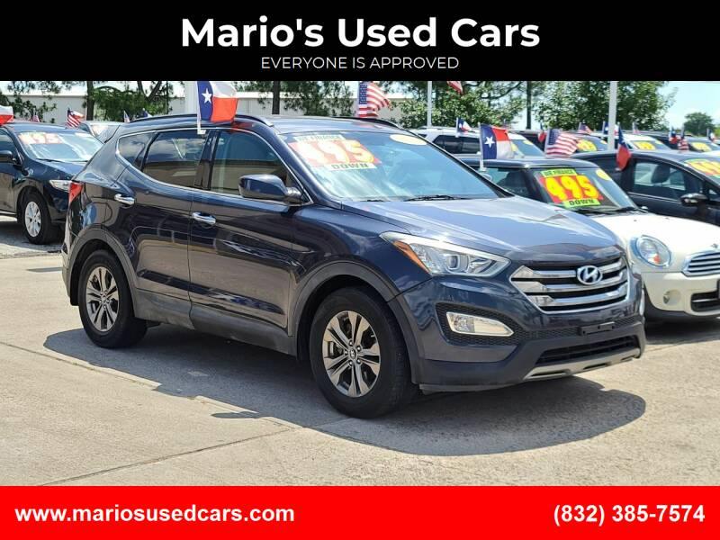 2013 Hyundai Santa Fe Sport for sale at Mario's Used Cars in Houston TX