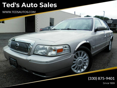 2011 Mercury Grand Marquis for sale at Ted's Auto Sales in Louisville OH