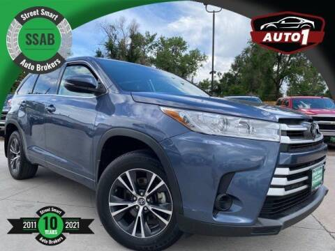 2018 Toyota Highlander for sale at Street Smart Auto Brokers in Colorado Springs CO