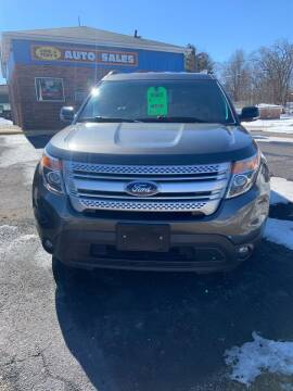 2015 Ford Explorer for sale at GENE AND TONYS DEMOTTE AUTO SALES in Demotte IN