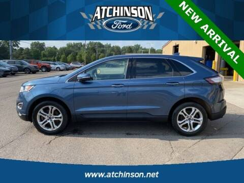 2018 Ford Edge for sale at Atchinson Ford Sales Inc in Belleville MI