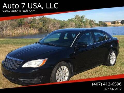 2011 Chrysler 200 for sale at Auto 7 USA, LLC in Orlando FL