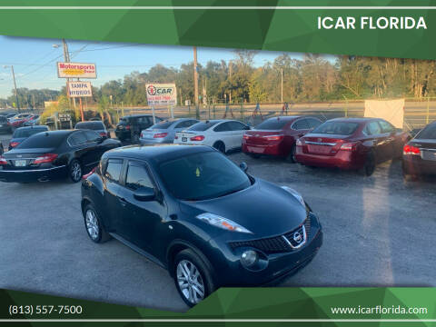 2014 Nissan JUKE for sale at ICar Florida in Lutz FL