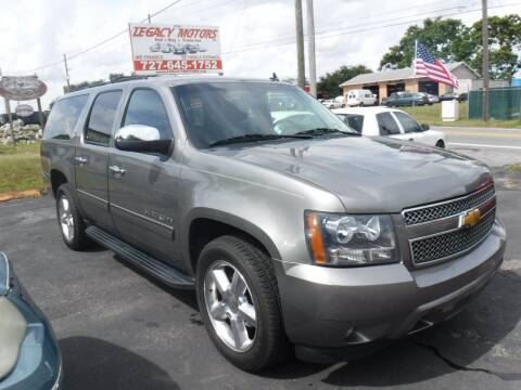 2012 Chevrolet Suburban for sale at LEGACY MOTORS INC in New Port Richey FL