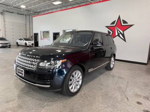 2016 Land Rover Range Rover for sale at CarNova - Shelby Township in Shelby Township MI