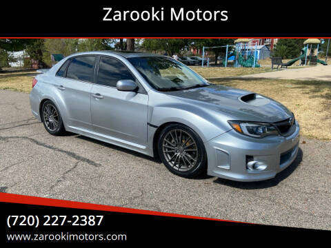 2012 Subaru Impreza for sale at Zarooki Motors in Englewood CO