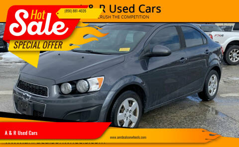 2013 Chevrolet Sonic for sale at A & R Used Cars in Clayton NJ