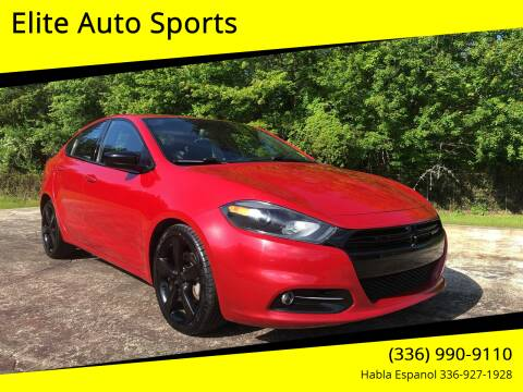 2014 Dodge Dart for sale at Elite Auto Sports LLC in Wilkesboro NC
