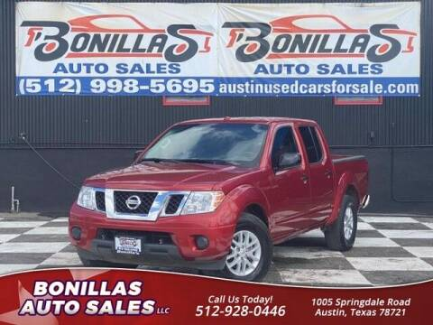 2016 Nissan Frontier for sale at Bonillas Auto Sales in Austin TX