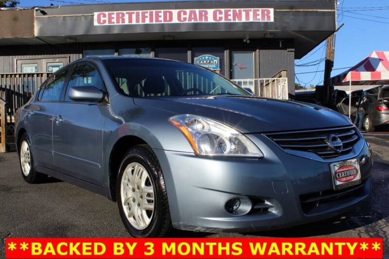 2011 Nissan Altima for sale at CERTIFIED CAR CENTER in Fairfax VA